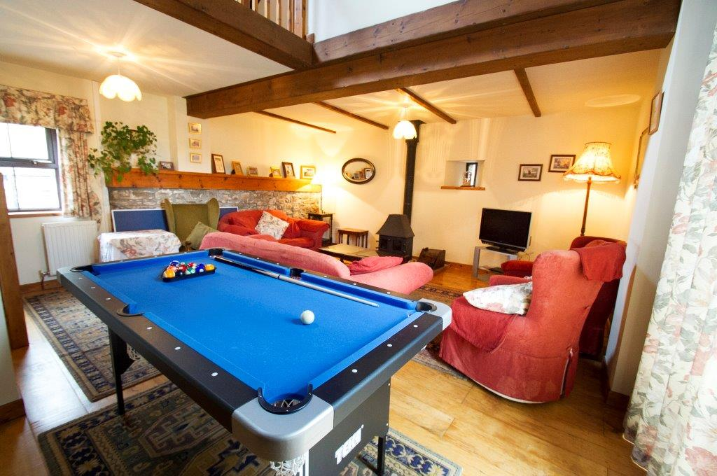 Llwynpur pool table