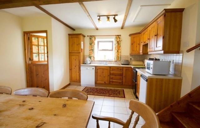 Llwynpur kitchen-diner