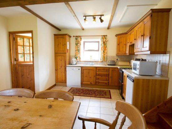 Llwynpur kitchen diner