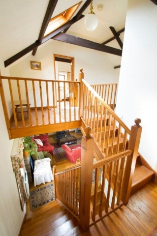 Llwynpur staircase