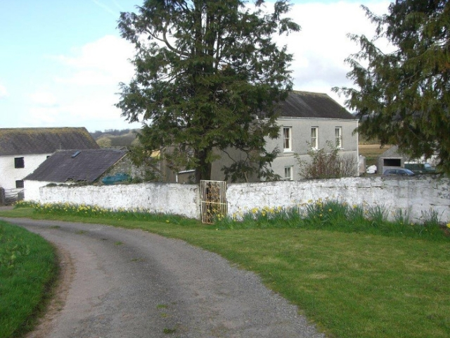 Glanyrynys Farm approach